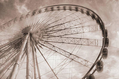 Digital Art - Skywheel In Niagara Falls by Eduardo Tavares