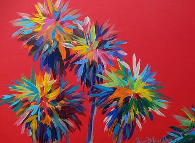 Sl Palms Art Print by Anne Marie Brown