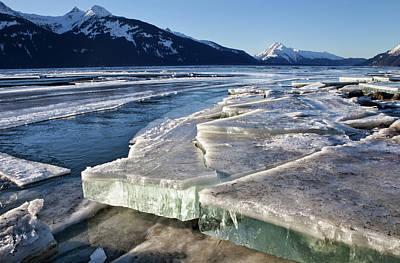 Photograph - Slabs Of Ice by Michele Cornelius