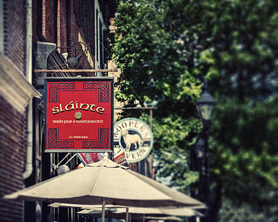 Fells Point Baltimore Maryland Photograph - Slainte by Lisa Russo