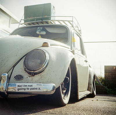 Photograph - Slammed Bug by Will Gudgeon