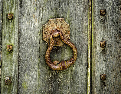 Photograph - Slanted Knocker by Jean Noren