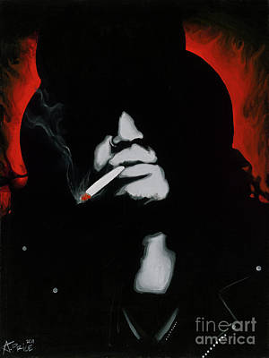 Painting - Slash by Ashley Price