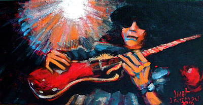 Slash Art Print by Jeanette Jarmon