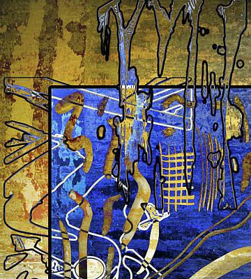 Alexander Calder Digital Art - Slash by Linda Dunn