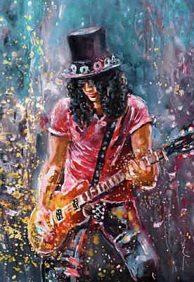 Painting - Slash by Miki De Goodaboom