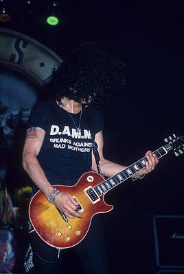 Photograph - Slash On Guns' Appetite Tour by Rich Fuscia