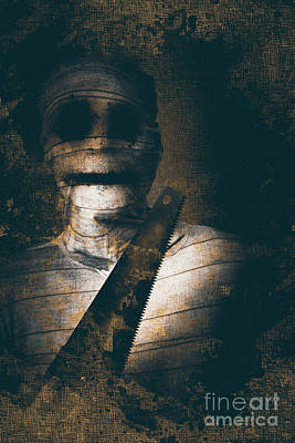 Photograph - Slasher Horror Mummy by Jorgo Photography - Wall Art Gallery