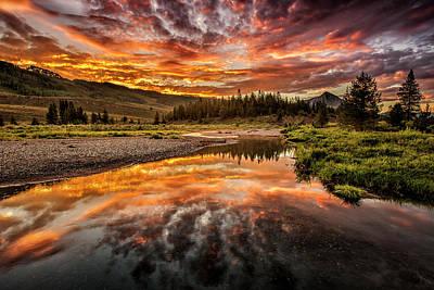 Photograph - Slate Creek by Whit Richardson