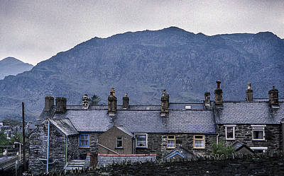 Photograph - Slate Grey Wales by Christopher Rees