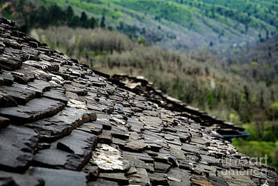 Photograph - Slate Roofs Of The Zagori, Greece by Global Light Photography - Nicole Leffer