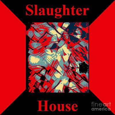 Barnyard Digital Art - Slaughterhouse No. I by Geordie Gardiner