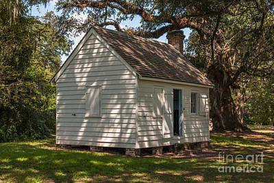 Photograph - Slave Cabin by Dale Powell