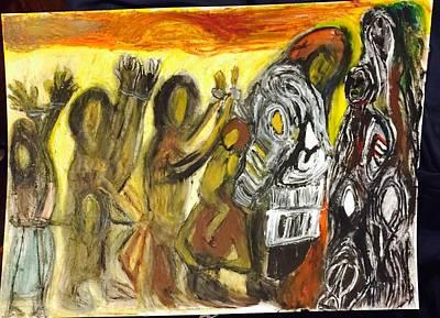 Slave Chain Art Print