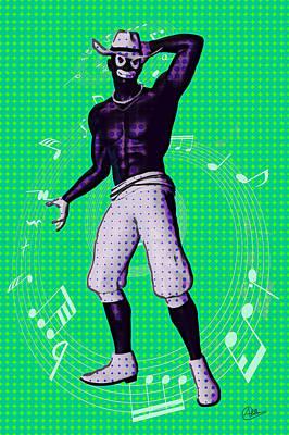 Framed Art Digital Art - Slave Of Hip Hop by Quim Abella