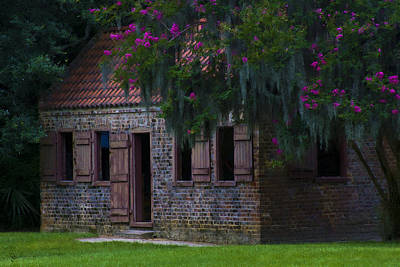 Ron Jones Photograph - Slave Quarters by Ron Jones