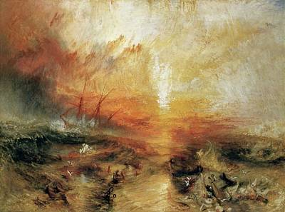 Painting - Slave Ship by Joseph Mallord William Turner
