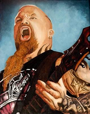 Heavy Metal Painting - Slayer King by Al  Molina