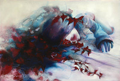 Sleep Art Print by Barbara Agreste