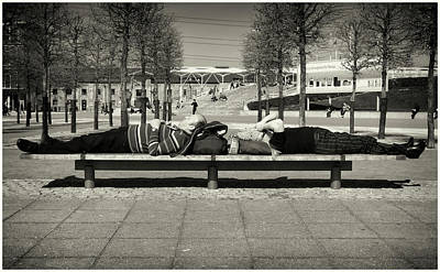 Photograph - Sleep Pattern  by Stewart Marsden
