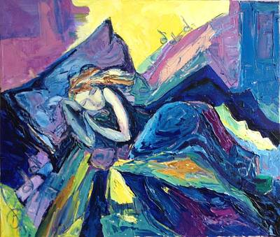 Graphics Painting - Sleep Ringtone  by Veronika Petukhova