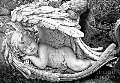 Photograph - Sleeping Angel by Ethna Gillespie