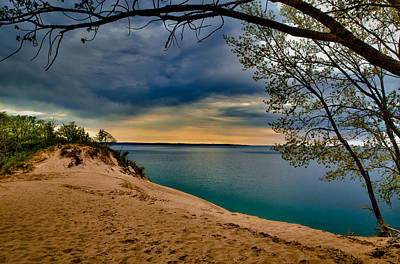 Sleeping Bear Dunes Art Print by Jason Naudi