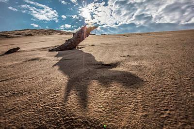 Photograph - Sleeping Bear Dunes Sun Shinning  by John McGraw
