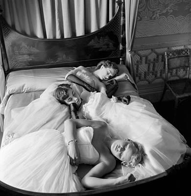 Sleeping Beauties Art Print by Thurston Hopkins