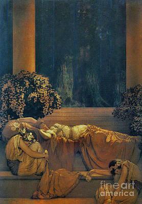 Photograph - Sleeping Beauty 1912 by Padre Art