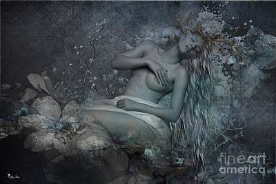 Digital Art - Sleeping Beauty  by Ali Oppy