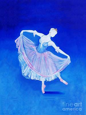 Painting - Sleeping Beauty Ballet by Kim Chambers