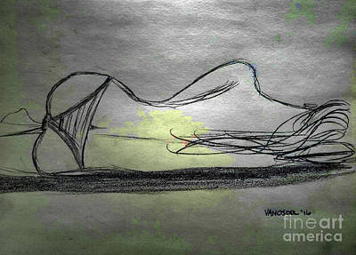 Sleeping Beauty - Chrome Abstract Original