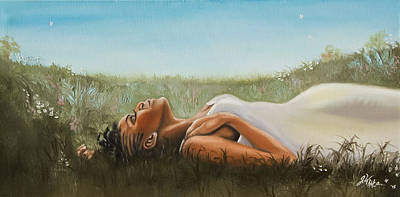 Painting - Sleeping Beauty by Jerome White