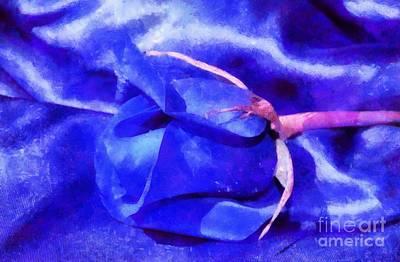 Abstract Digital Photograph - Sleeping Beauty by Krissy Katsimbras