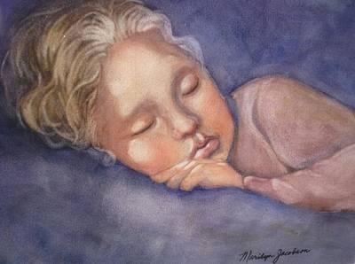 Sleeping Beauty Art Print by Marilyn Jacobson