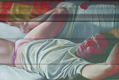 Paul Autodore Art Painting - Sleeping Beauty by Paul Autodore
