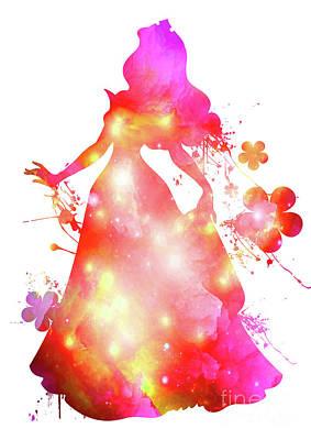 Fashion Digital Art - Sleeping Beauty  by Prar Kulasekara