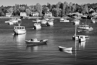 Nature Photograph - sleeping boats II by Jon Glaser