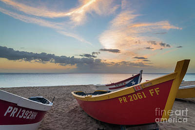 Puerto Photograph - Sleeping Boats On The Beach by Paul Quinn