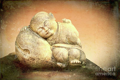 Photograph - Sleeping Buddha by Lynn Bolt