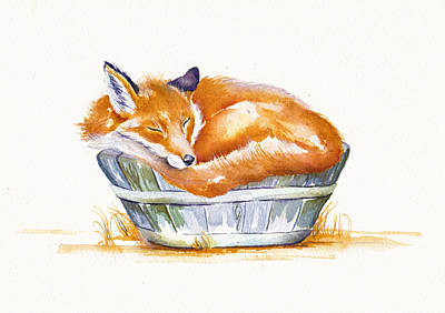 Painting - Sleeping by Debra Hall
