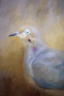 Painting - Sleeping Dove by Jai Johnson