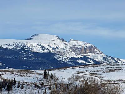 Photograph - Sleeping Indian Mountain by DeeLon Merritt