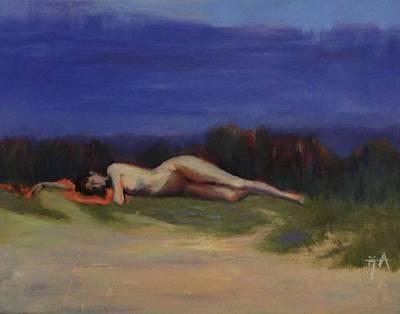 Painting - Sleeping Maiden by Irena Jablonski