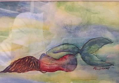 Sleeping Mermaid Original