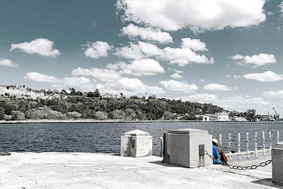 Photograph - Sleeping On The Dock Of The Bay by Sharon Popek