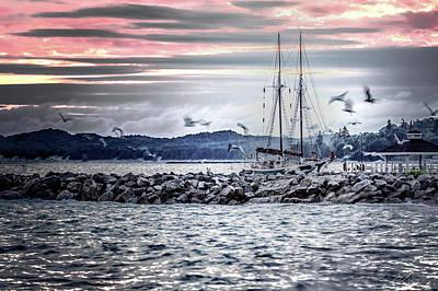 Wall Art - Photograph - Sleeping Sails by J Thomas