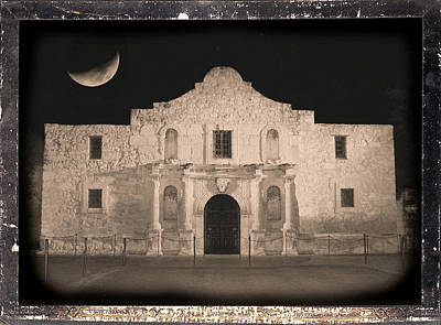 Photograph - Sleeping Spirit Of The Alamo by Carol Groenen