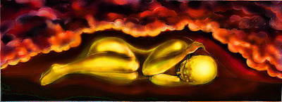 Painting - Sleeping Sun by Svetlana Nassyrov